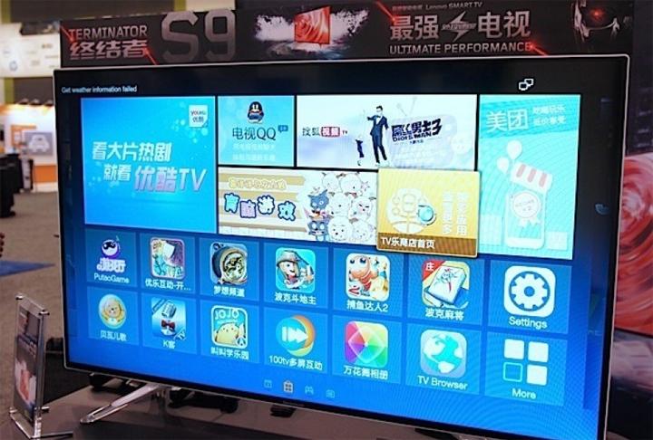 Lenovo Terminator S9   Android телевизор с процессором NVIDIA Tegra K1
