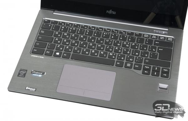 Fujitsu LifeBook U904: keyboard