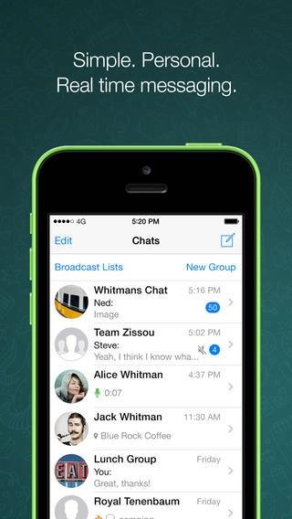 WhatsApp установила рекорд — 64 млрд сообщений за сутки
