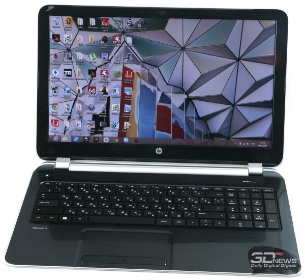 HP Pavilion 15-n029sr: design