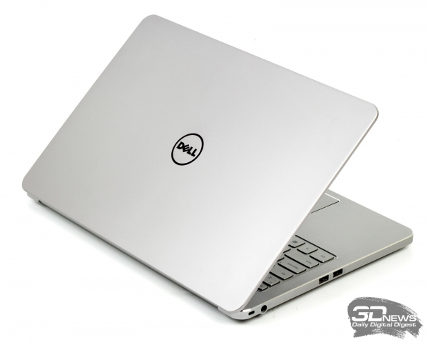 Dell Inspiron 7537: opened lid