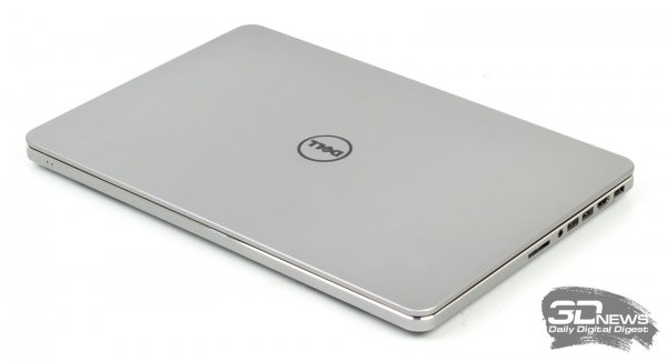 Dell Inspiron 7537: closed lid