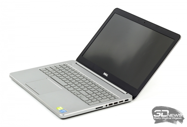 Dell Inspiron 7537: design