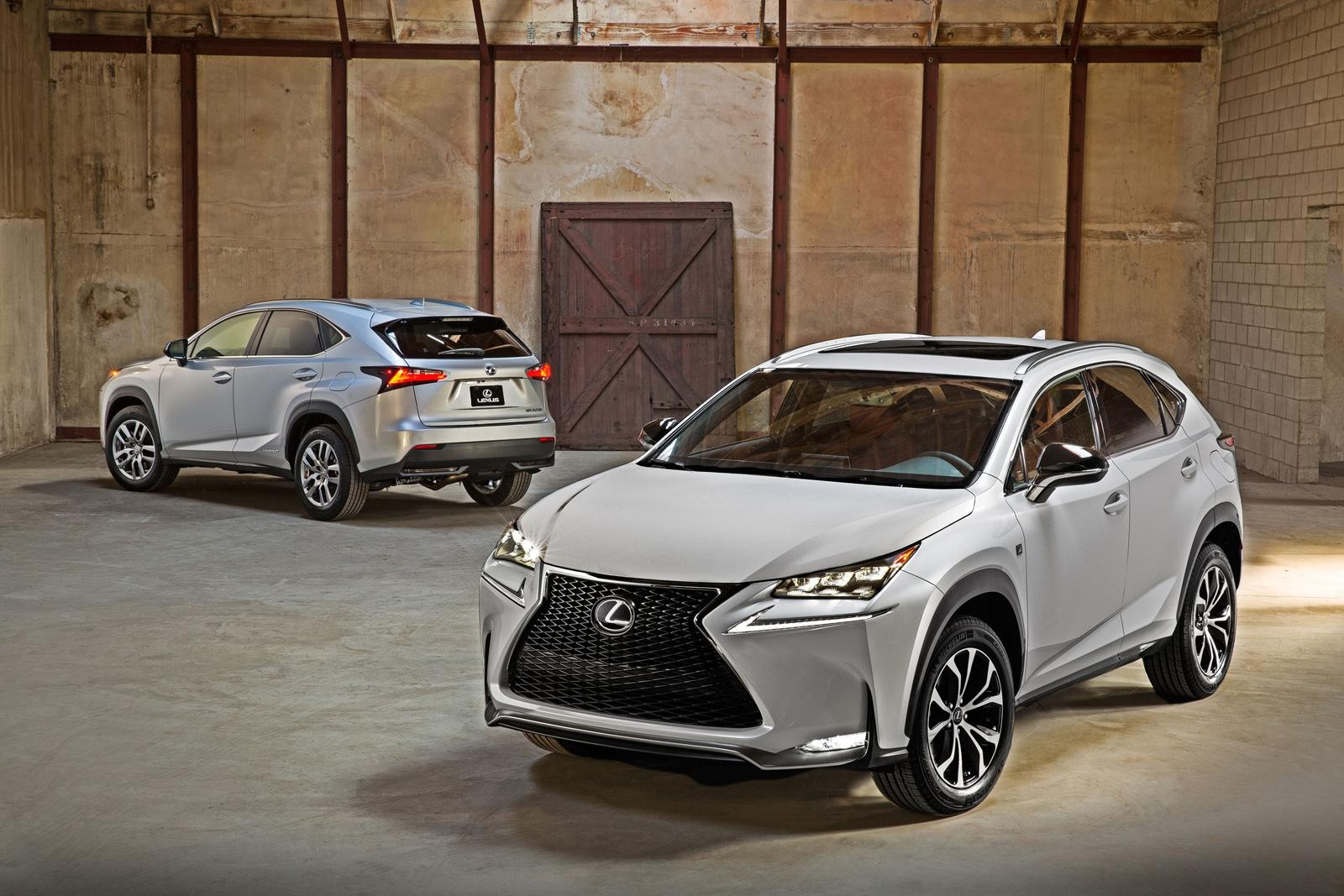 Новенький NX, открывает для Lexus…