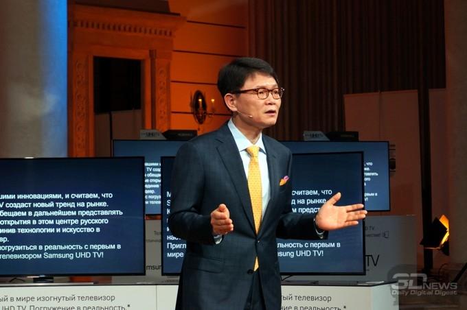 UHD-телевизоры Samsung U9000 с изогнутым экраном и другие новинки 2014 года