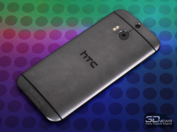 HTC One M8 gunmetal gray