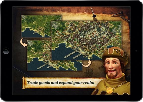 Build an Empire 1 Стратегия ANNO: Build an Empire выйдет на iPad