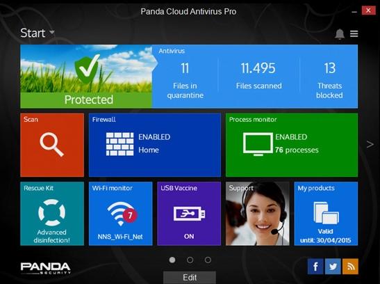 Новая версия облачного антивируса Panda Cloud Antivirus 3.0