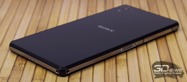 Sony Xperia Z2: new frame design