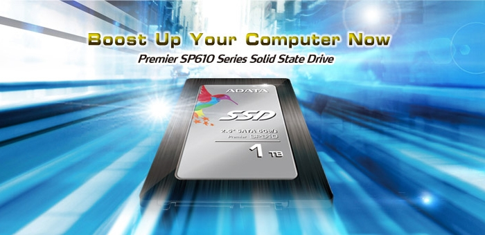 ADATA выпустила SSD-накопители Premier SP610 ёмкостью до 1 Тбайт