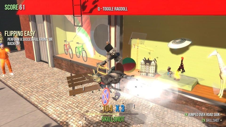 скачать игру симулятор козла 2 в городе через торрент