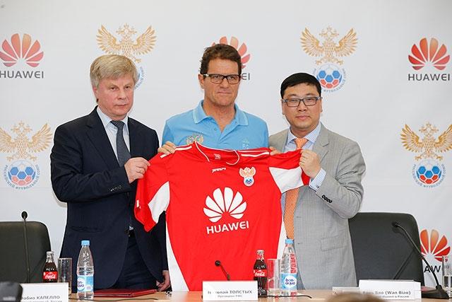 Huawei — официальный спонсор сборной России по футболу