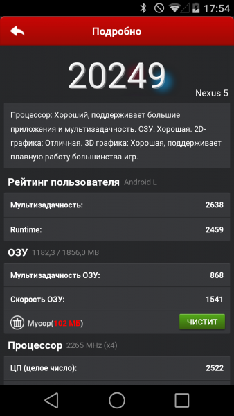 Android L - Версия 5.0 Мир Android  - sm.antutu-L.600