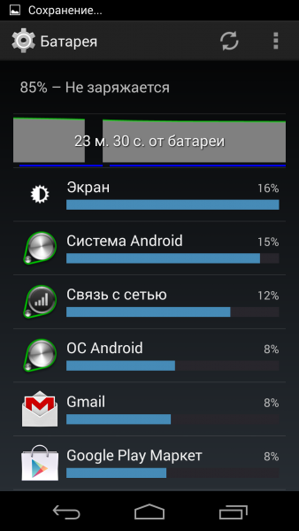Android L - Версия 5.0 Мир Android  - sm.battery-444.600