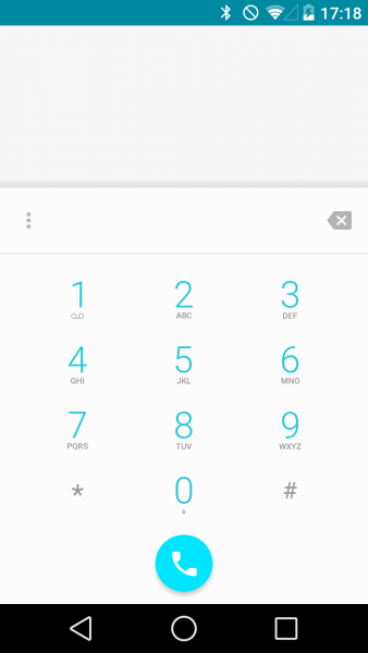 Android L - Версия 5.0 Мир Android  - sm.dialer-L-2.600