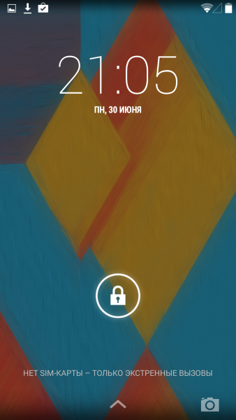 Android L - Версия 5.0 Мир Android  - sm.locked-444.600