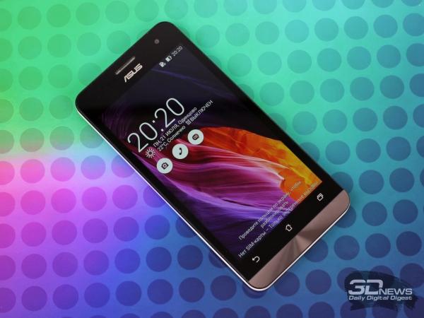 ASUS Zenfone 5 – лицевая панель