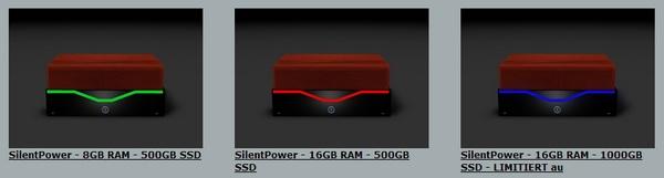Три варианта SilentPower PC