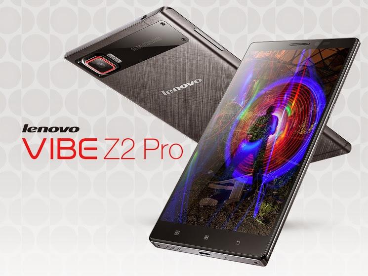 Смартфон Lenovo Vibe Z2 Pro оценили в 29 990 рублей