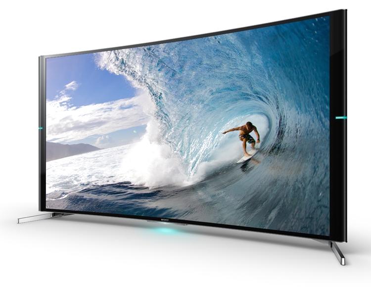 Sony представила изогнутые телевизоры Bravia S90 формата 4K