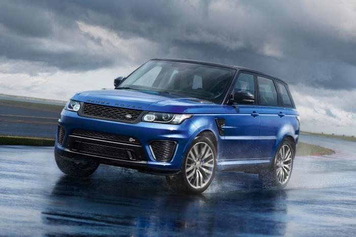 Range Rover Sport SVR: самый мощный и быстрый автомобиль Land Rover