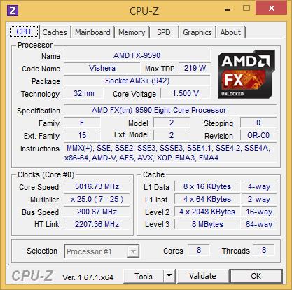 5 ГГц, но только в турбо-режиме