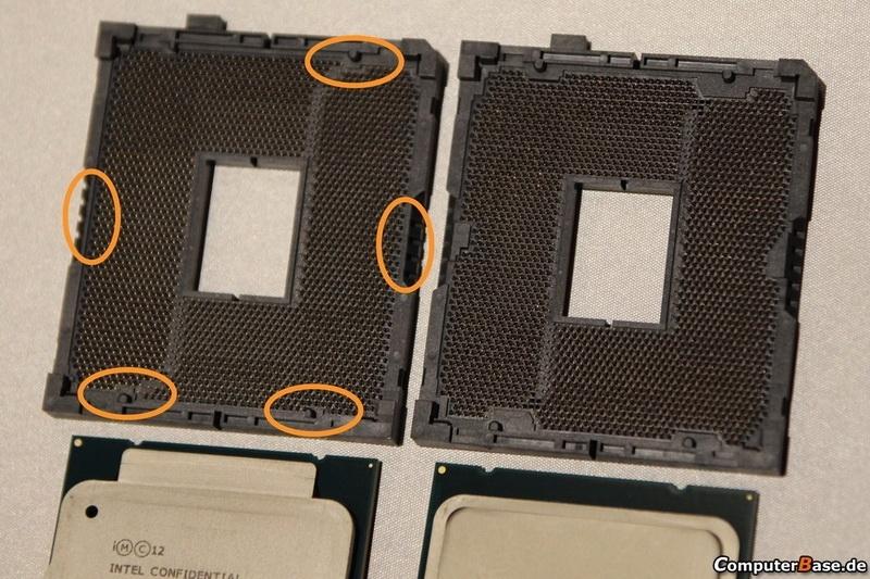 ASUS OC Socket слева, сертифицированнй разъём справа (computerbase.de)