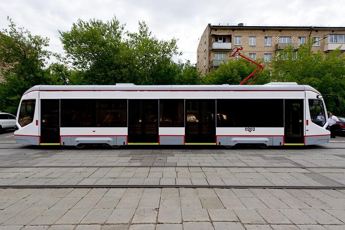"""В Москве приступили к испытаниям ГЛОНАСС-трамвая"""""""
