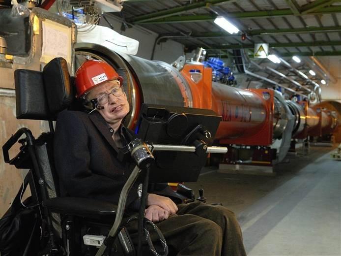 Стивен Хокинг посетил в 2006 году Большой адронный колайдер
