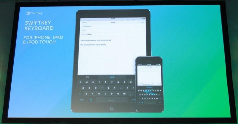 Презентация SwiftKey для iOS