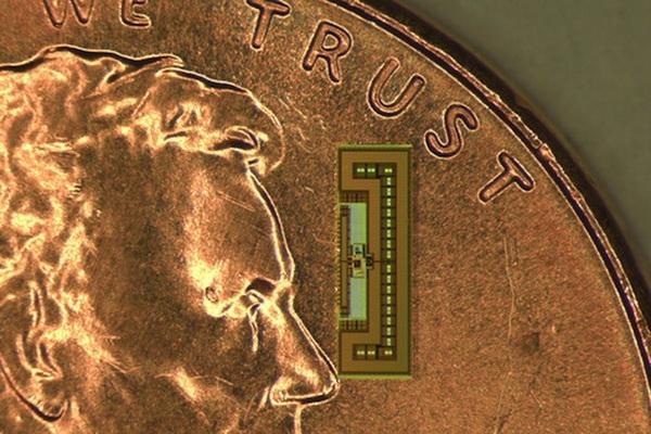 Новый чип действительно невелик