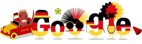 Дудл Google о Германии