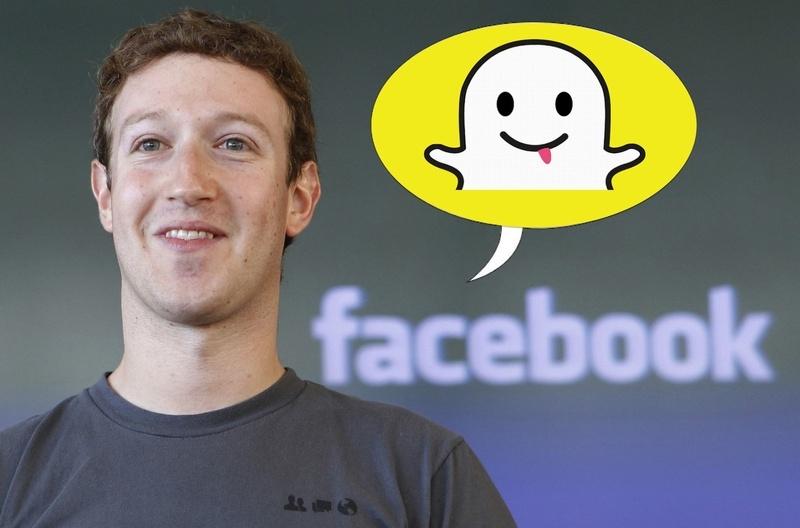 Facebook и Snapchat