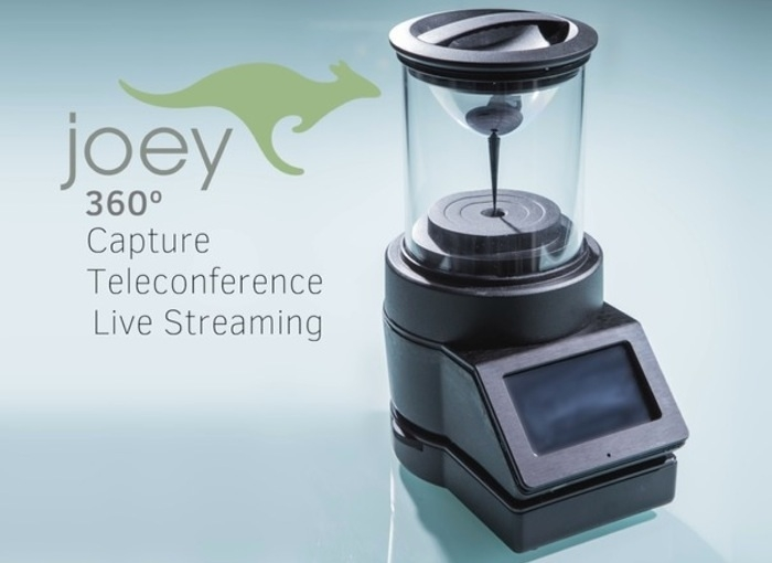 Joey 360: панорамная камера с обзором в 360° и записью в формате 4K Ultra HD