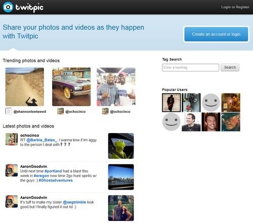 Сайт Twitpic.com