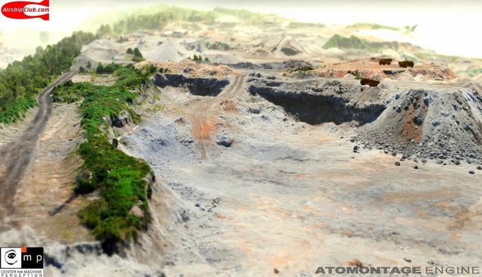 Полностью разрушаемый пейзаж на движке Atomontage