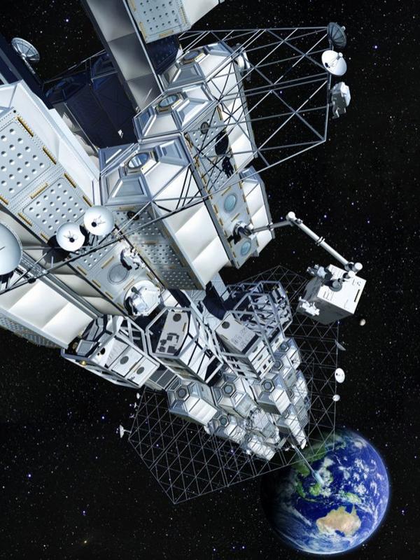 Япония намерена запустить космический лифт к 2050 году