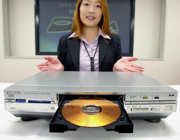Panasonic закроет завод по производству DVD-плееров