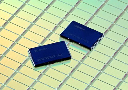 NAND стрит память Toshiba, выпущенная по технологии 15hm