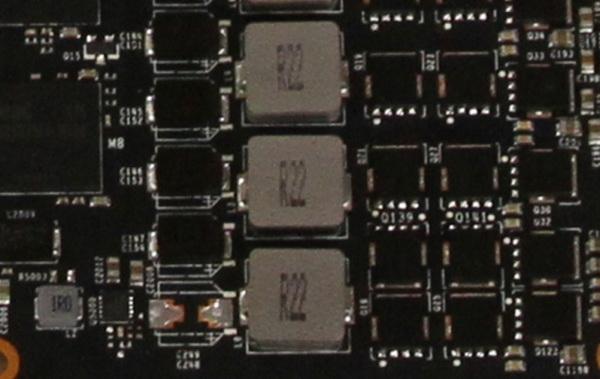 Обвиняемые дроссели в системе GeForce GTX 970