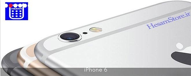 Эпл Айфон 6 в рекламе неавторизованного иранского ресселера Hesam