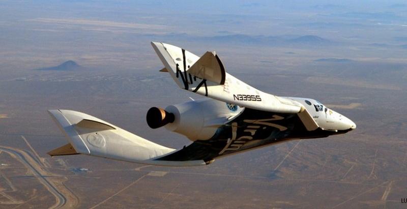 "SpaceShipTwo взорвался из за ""резинового"" двигателя"