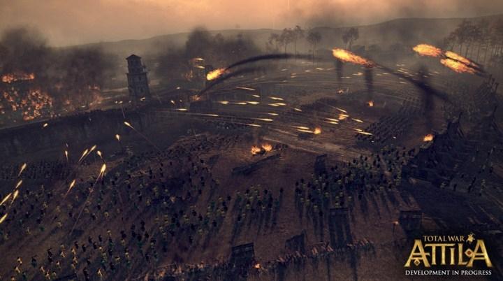 """Опубликован новый кинематографический трейлер Total War: Attila"""""""