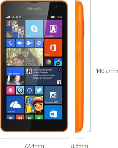 """Microsoft представила Lumia 535, первый WP-смартфон под собственной маркой"""""""