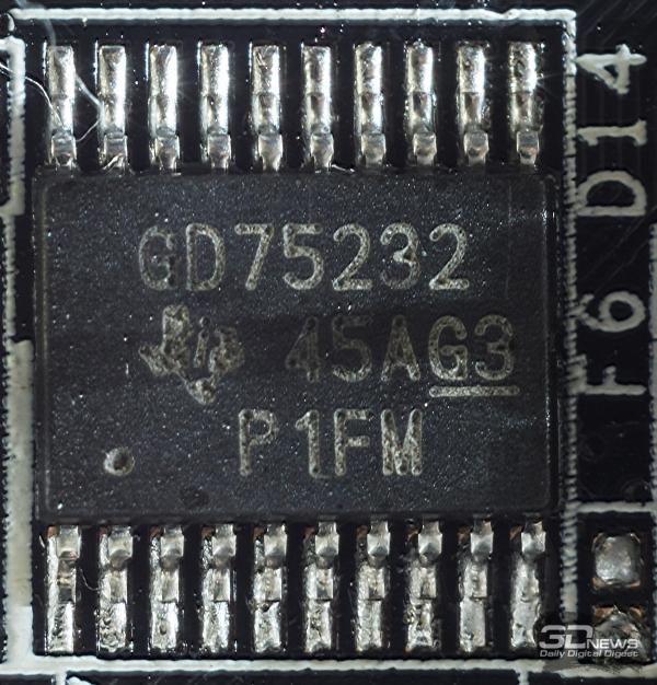 обязаны микросхеме GD75232