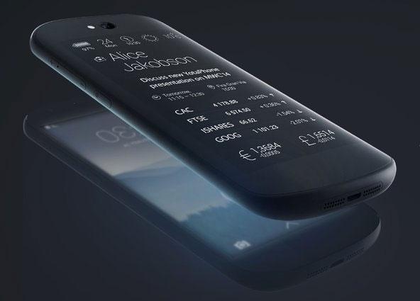 YotaPhone 2: телефон с 2-мя экранами, один из которых - монохроматический E Ink