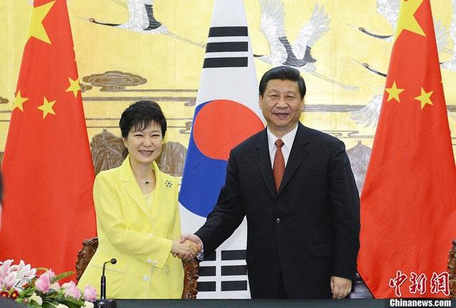 Руководители Южной Кореи и Китая подписали договор о свободной торговле. На пороге зрелости эпохи всё сделано в Китае.