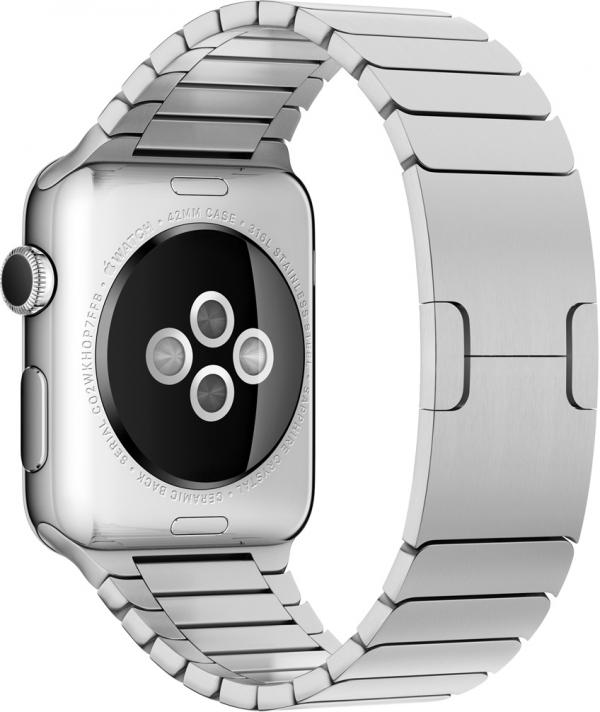 Эпл Watch из 316L стали с зрительным детектором пульса