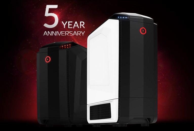 Origin PC Millennium (справа) и Дженесис
