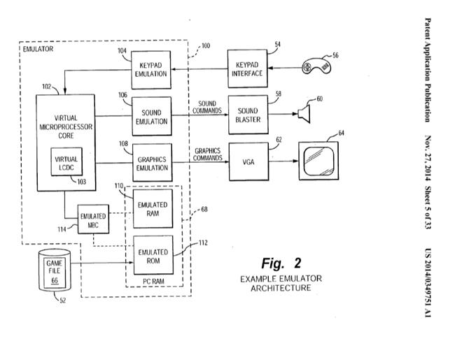 Выдержка из патента Nintendo